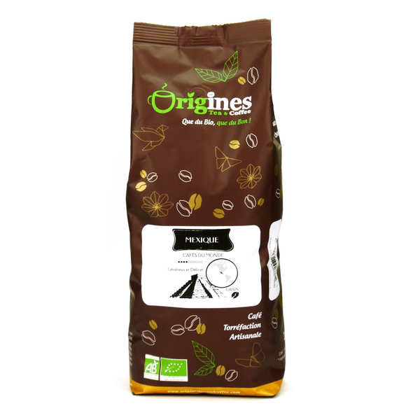 Café en grains bio - Mexique