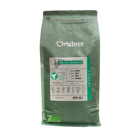 Origines Tea and Coffee - Café en grains bio - Moka d'Abyssinie