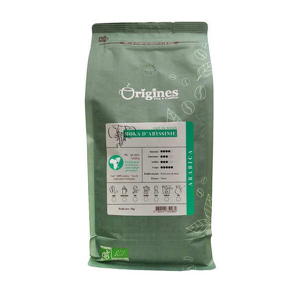 Café en grains bio - Moka d'Abyssinie