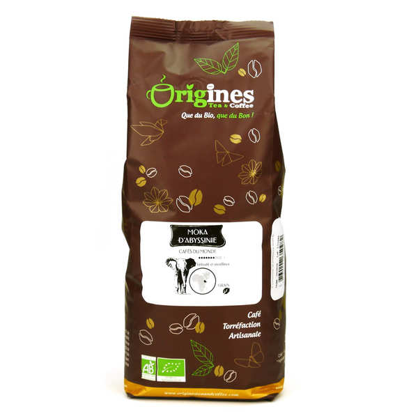Organic Coffee - Abyssinia Moka