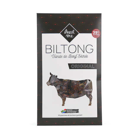 Meat Me - Classical Beef Biltong - Dried and Marinated Meat