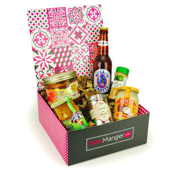 BienManger paniers garnis - French Islands Gourmet Gift Box