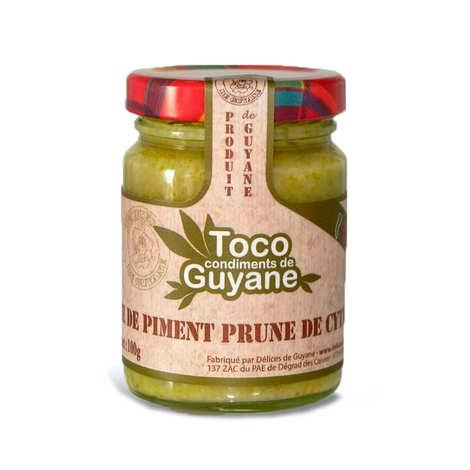 Délices de Guyane - Pâte de piment à la prune de cythère