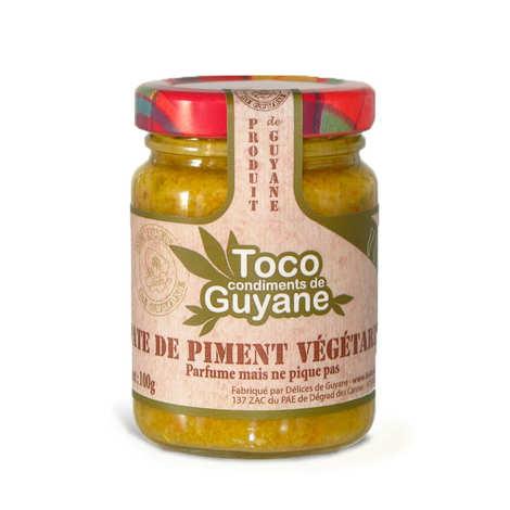 Délices de Guyane - Pâte de piment végétarien