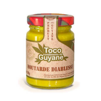 "Délices de Guyane - ""Diablesse"" Mustard Sauce"