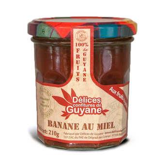 Délices de Guyane - Confiture de banane au miel de Guyane