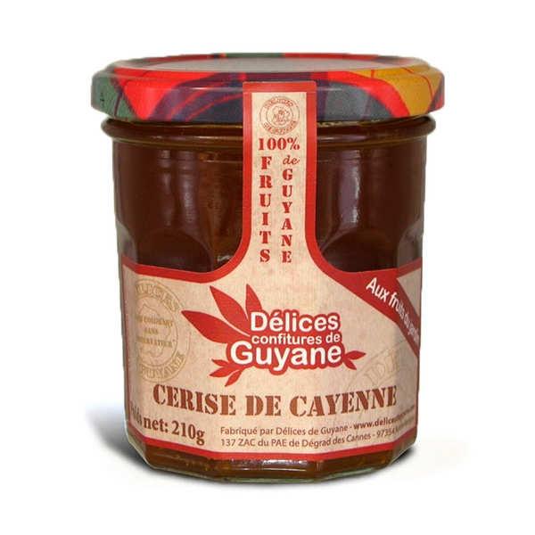 Confiture de cerise de Cayenne