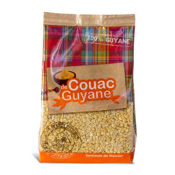 Délices de Guyane - Couac from Guiana - Cassava Semolina