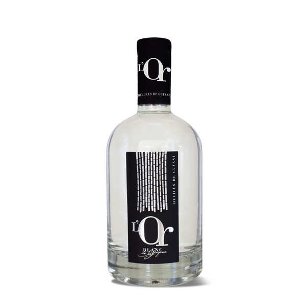 """Agricultural Rum - """"Or Blanc"""" from Guiana"""