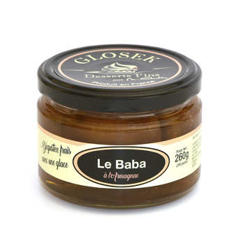 Glosek Gourmet - Baba Gascon with Armagnac