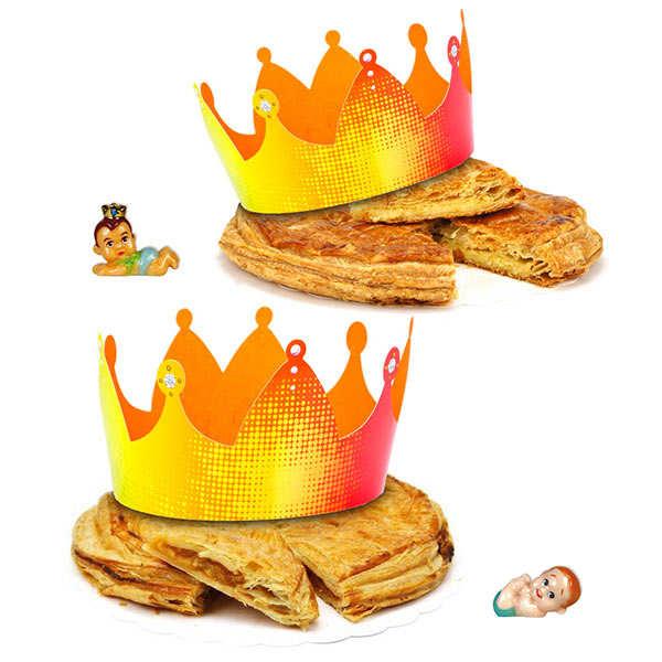 Galettes des rois frangipane et façon tarte tatin