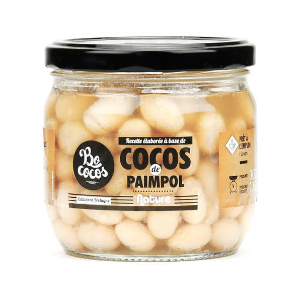 Cocos de Paimpol natures