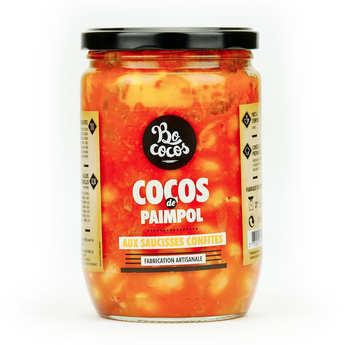 Bo Cocos - Cocos de Paimpol aux saucisses confites