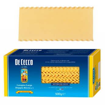 De Cecco - Lasagne large à bord frisé n°1 De Cecco