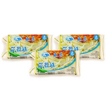 Fish Well - 10 sachets de Spaghetti de Konjac