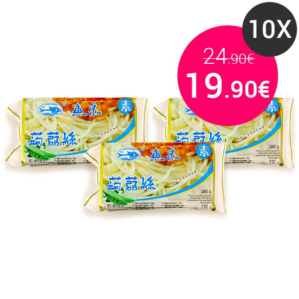 10 sachets de Spaghetti de Konjac
