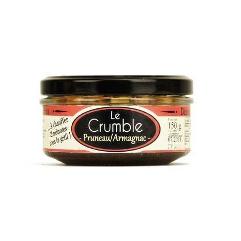 Glosek Gourmet - Crumble aux pruneaux et à l'Armagnac