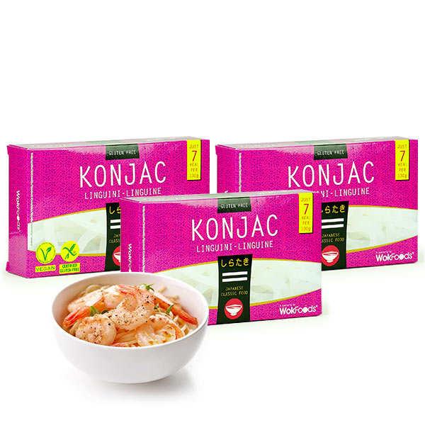 10 sachets de Linguine de Konjac