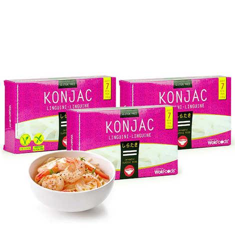 Wok Foods - 48 sachets de Linguine de Konjac