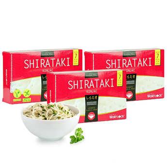 Wok Foods - 10 sachets de Shirataki de Konjac (vermicelles)