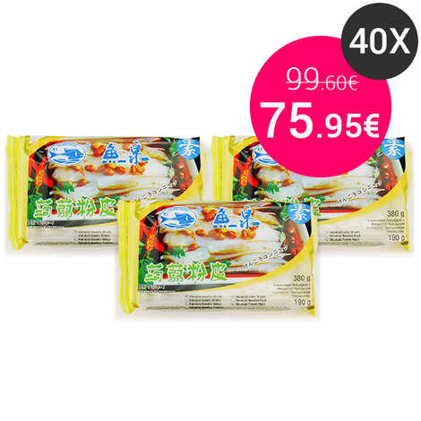 Fish Well - 40 x Konjac Wide Tagliatelle