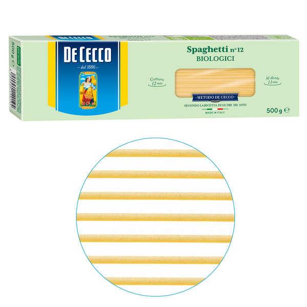 Spaghetti n°12 bio De Cecco