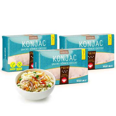 40 sachets de Riz de Konjac (grains)