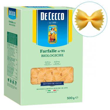 Farfalle bio n°93 De Cecco