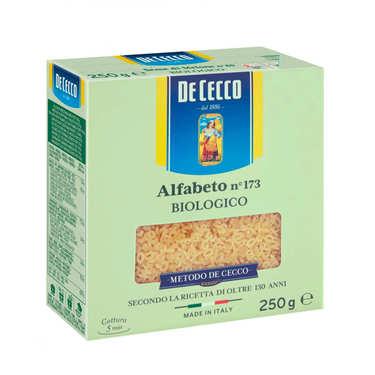 Pâte alphabet bio n°173 De Ceccoo