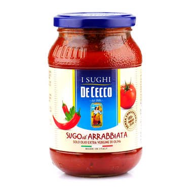 All'arrabiata Tomato Sauce De Cecco