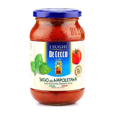 Sauce tomate à la napolitaine De Cecco (Basilic)