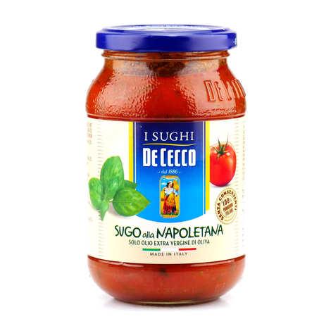 De Cecco - Sauce tomate à la napolitaine De Cecco (Basilic)