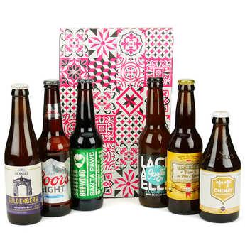 - Box découverte de 6 bières de janvier