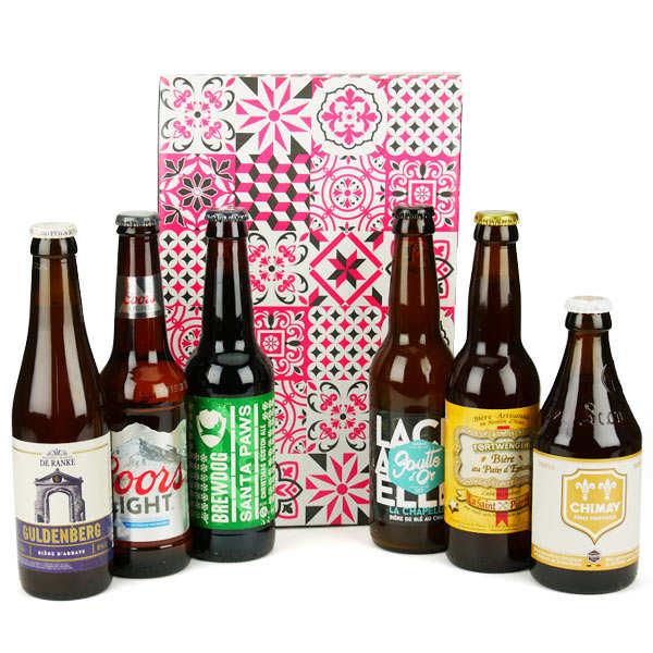 Box découverte de 6 bières de janvier