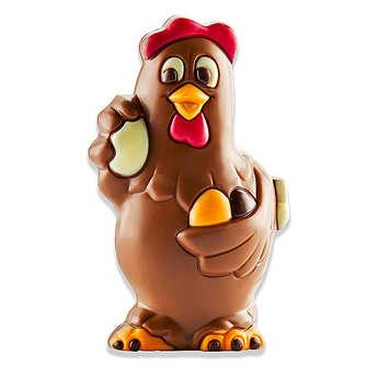 BienManger.com - Milk Chocolate Young Hen
