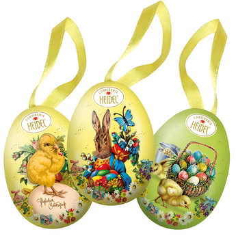 Confiserie Heidel - Little Decorated Egg Garnished with Milk Chocolates