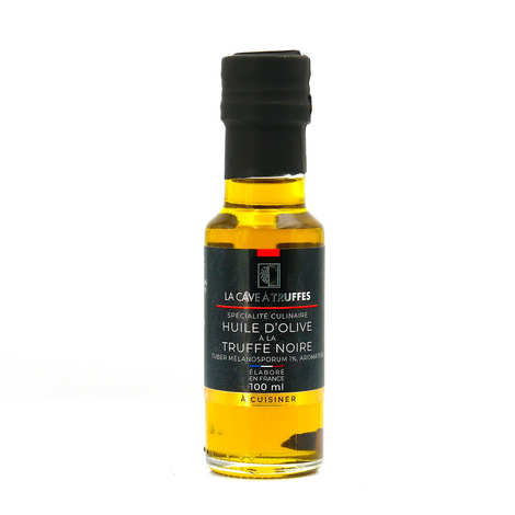 Truffières de Rabasse - Mignonette d'huile d'olive et de truffe noire (morceau 1% et arômes)