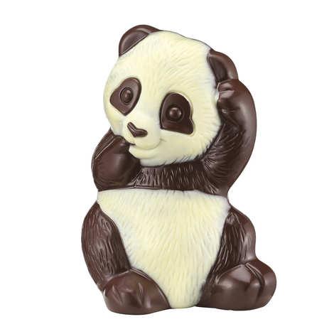 Voisin chocolatier torréfacteur - Panda chocolat noir Voisin