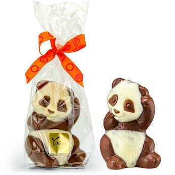 Voisin chocolatier torréfacteur - Panda chocolat au lait Voisin