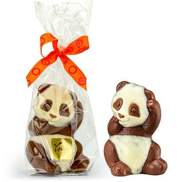 Panda chocolat au lait Voisin