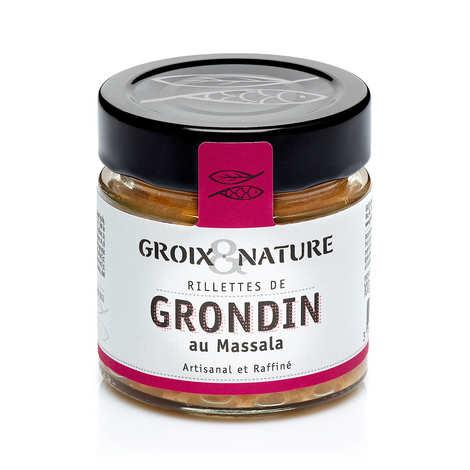 Groix & Nature - Gurnard Rillette with Massala