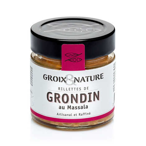 Groix & Nature - Rillettes de grondin au massala