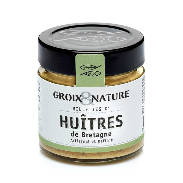 Oyster Rillettes from Brittany