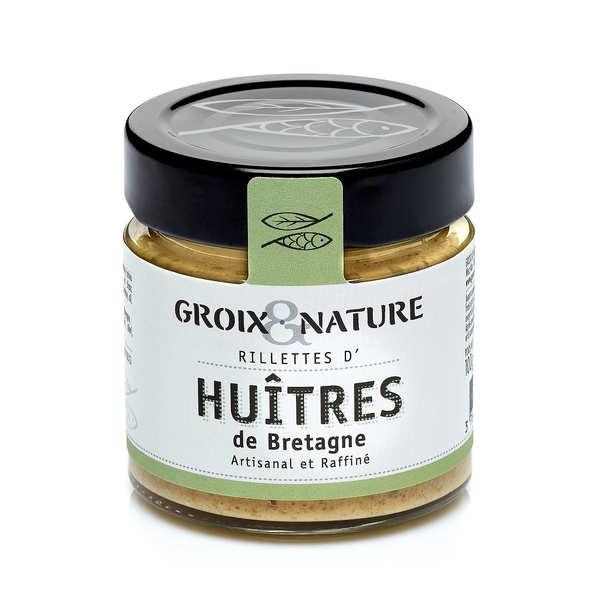 Rillettes d'huîtres de Bretagne