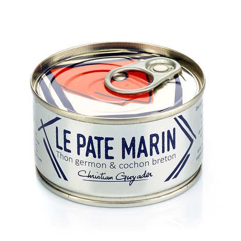 Groix & Nature - Pâté marin - thon blanc germon et cochon breton