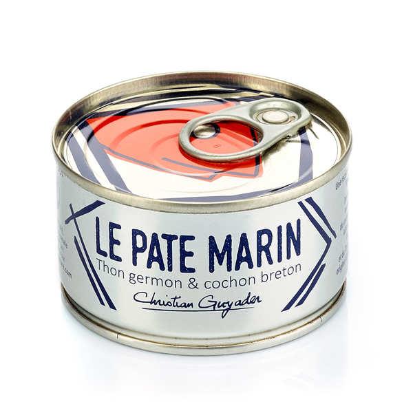Pâté marin - thon blanc germon et cochon breton