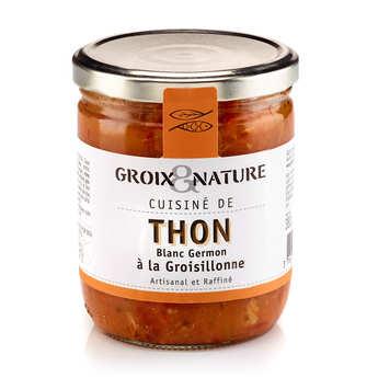 Groix & Nature - Thon blanc germon à la groisillonne