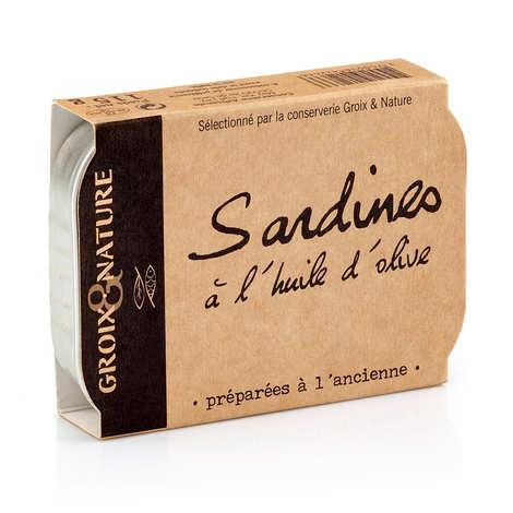 Groix & Nature - Sardines à l'huile d'olive préparée à l'ancienne
