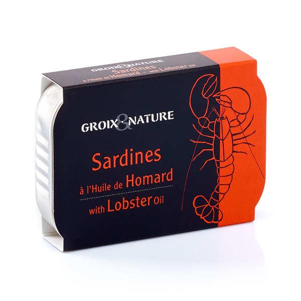 Sardines à l'huile de homard