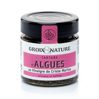 Groix & Nature - Seaweed tartare with seagreen vinegar